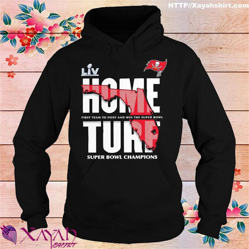 Tampa Bay Buccaneers home turt super bowl champions hoodie