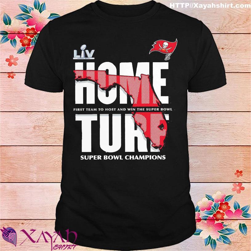 Tampa Bay Buccaneers home turt super bowl champions shirt