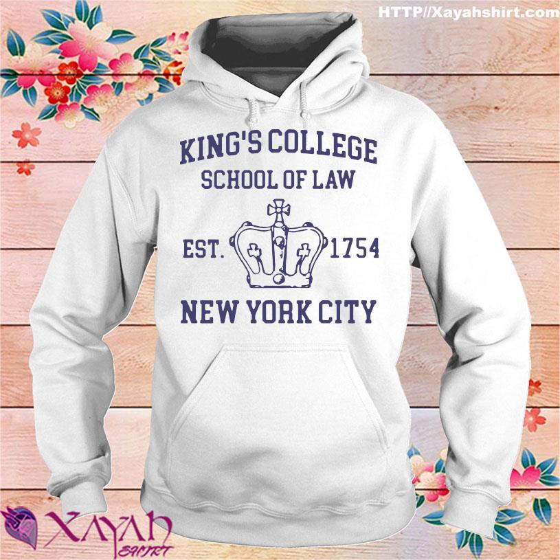 Alexander Hamilton King's College School Of Law Est 1954 New York City Shirt hoodie