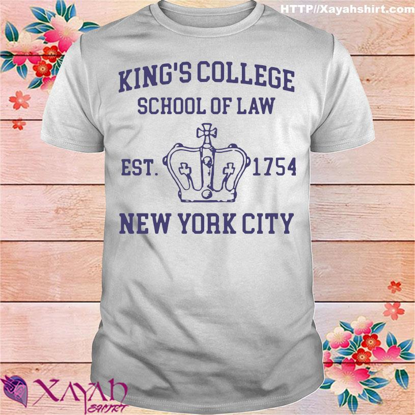 Alexander Hamilton King's College School Of Law Est 1954 New York City Shirt