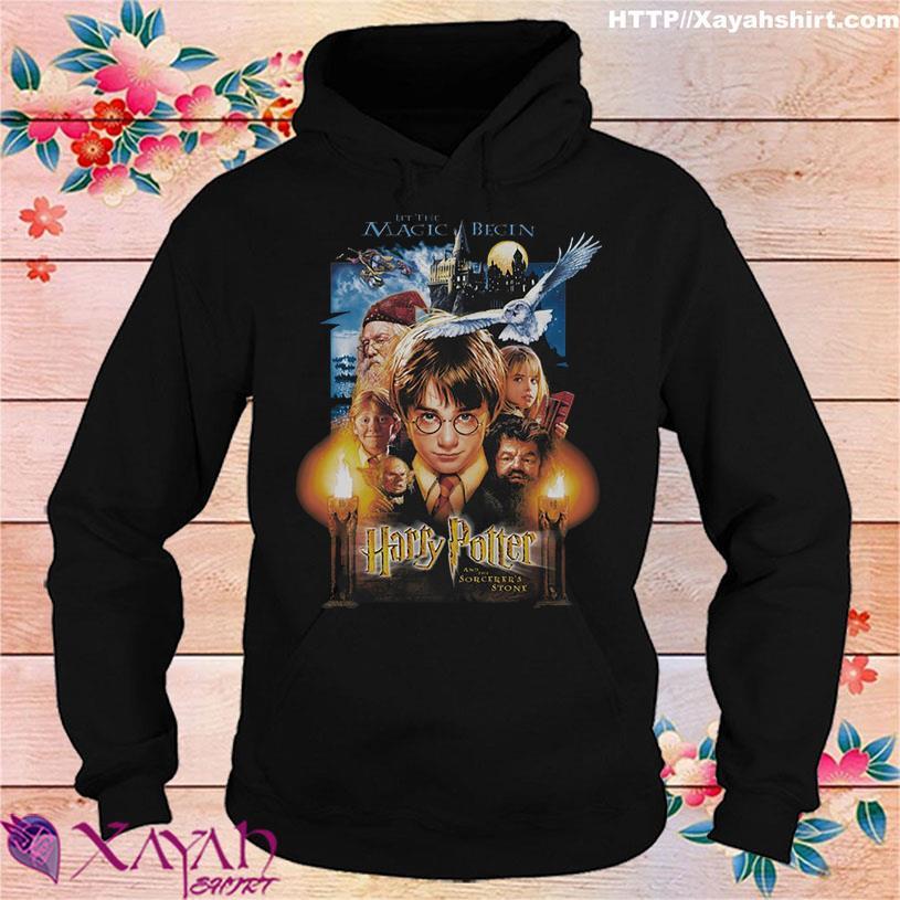 2021 Harry Potter let the Magic Begin hoodie