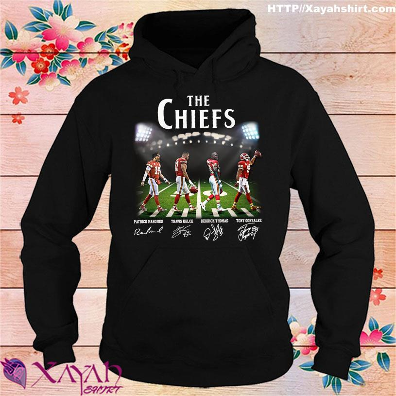 Abbey Road The Chiefs signatures hoodie