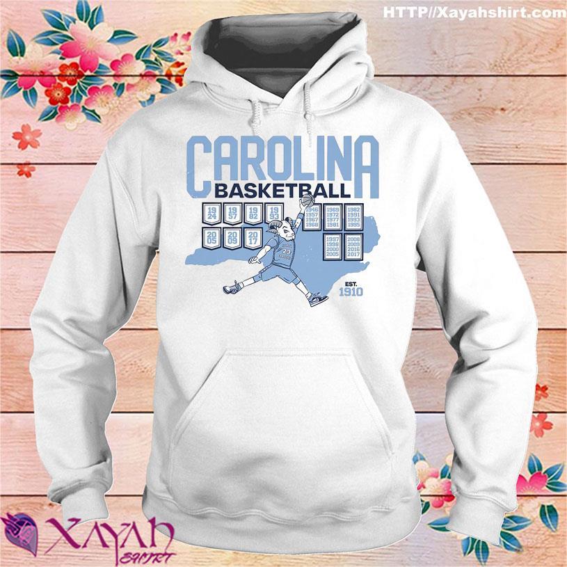 Carolina Basketball est 1910 hoodie