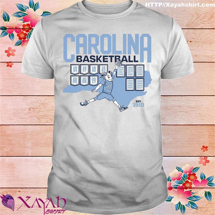 Carolina Basketball est 1910 shirt