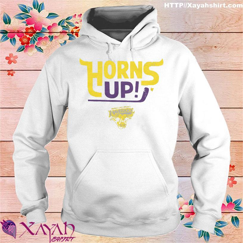 Horns Up Mavericks hoodie