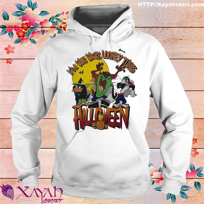 It's a wild Wacky Looney Tunes Halloween hoodie