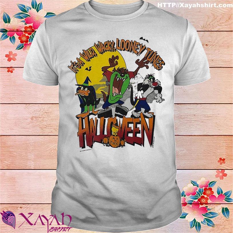 It's a wild Wacky Looney Tunes Halloween shirt