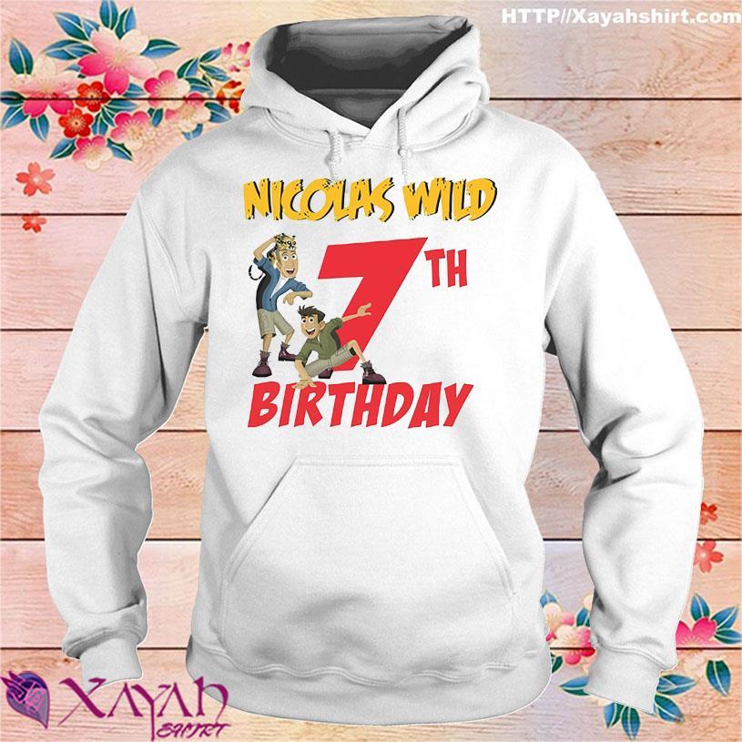 Nicolas wild 7TH Birthday hoodie