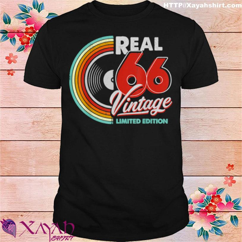 Vintage Made In 66 Being 55th Legends Shirt
