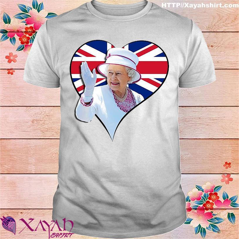 Elizabeth Love Flag Of England Shirt