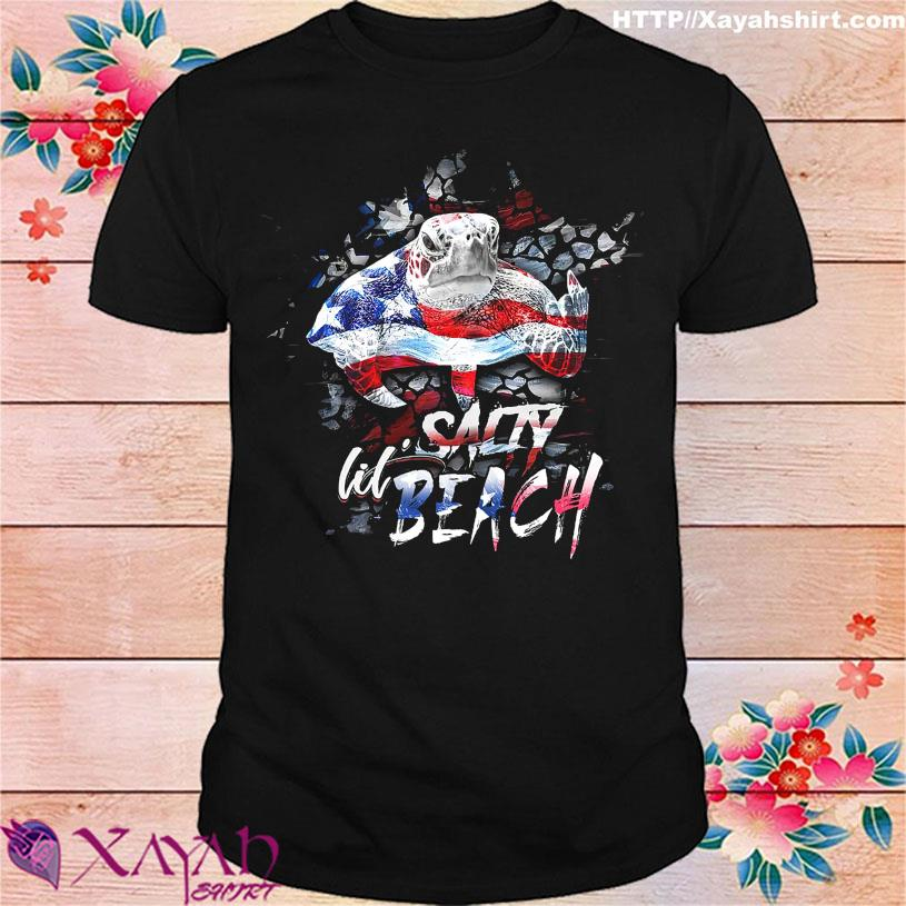Official Turtle Salty lil Beach American shirt