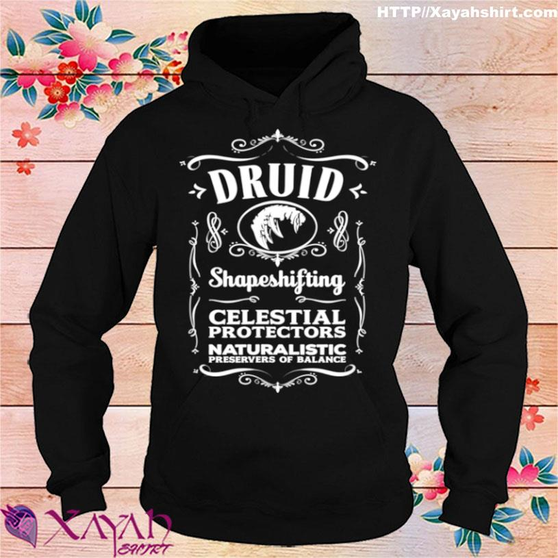 Official Wow Druid Role Playing Gamer Shirt hoodie