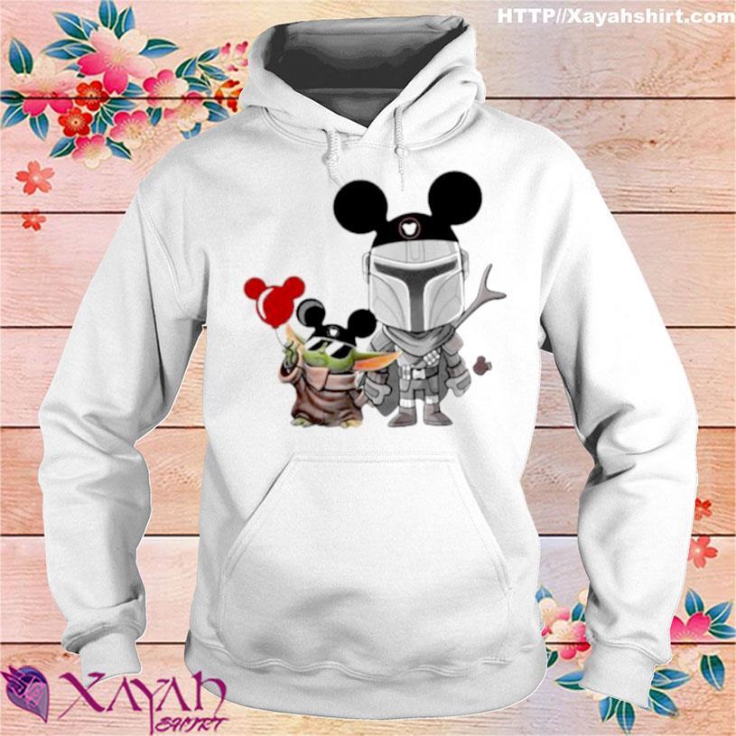 The Mandalorian Baby Yoda Mickey Shirt hoodie