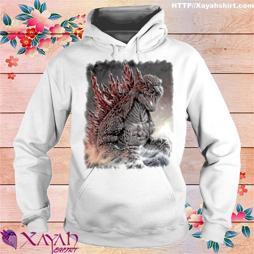 The Monster Team Big Fan Godzilla Shirt hoodie