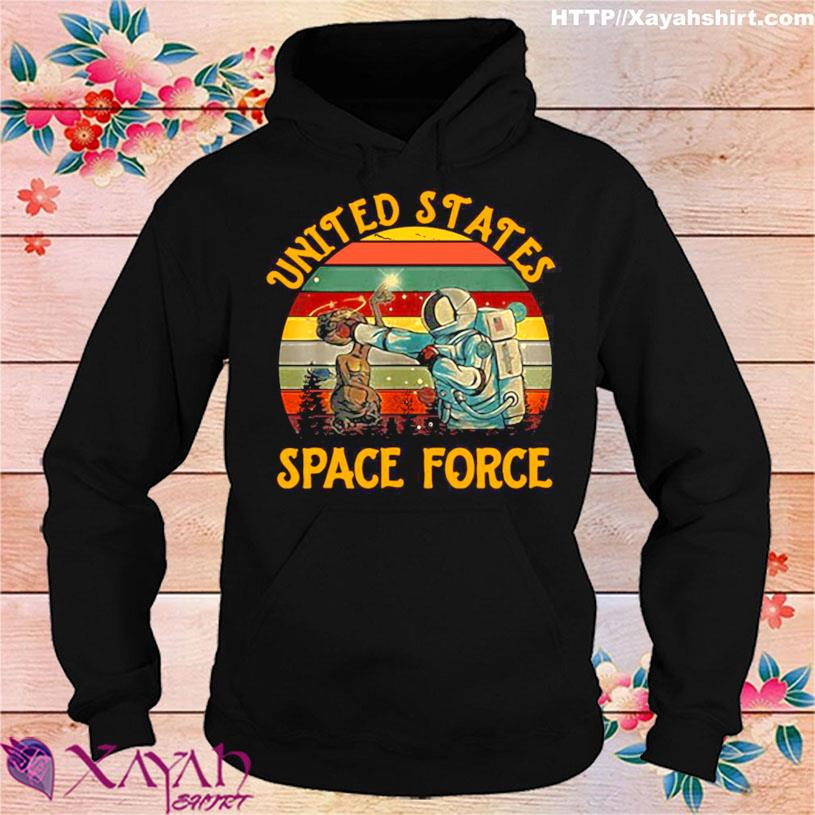 United States Space Force Punch Retro Vintage Shirt hoodie
