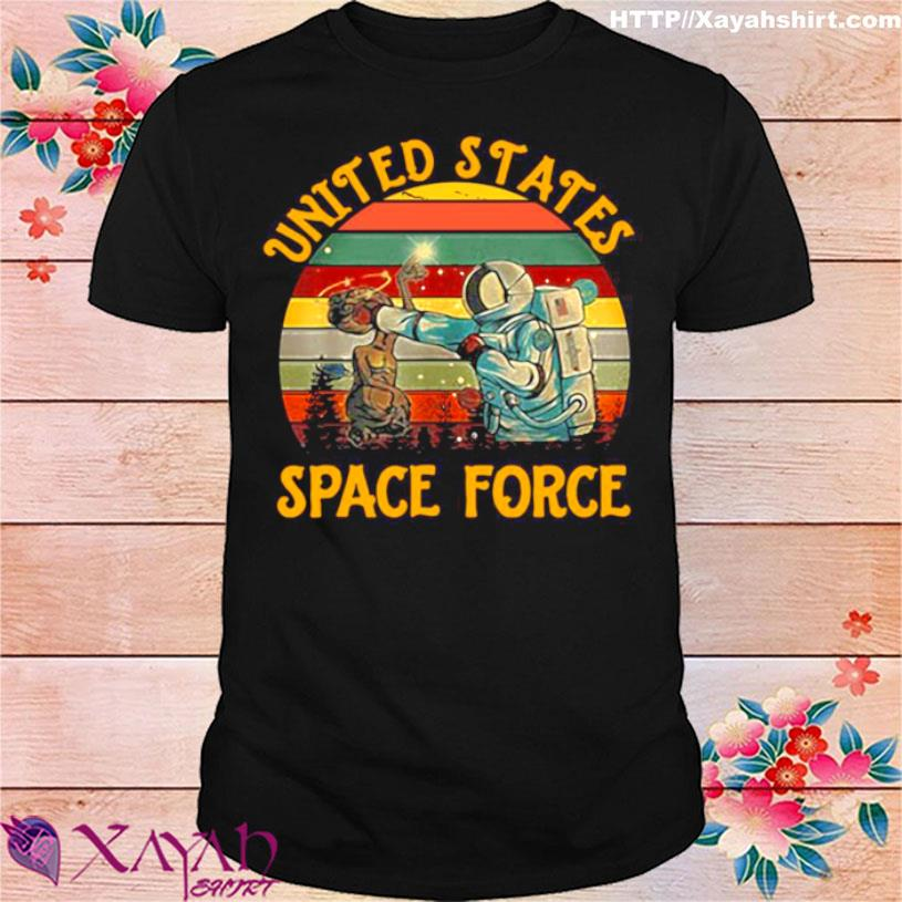 United States Space Force Punch Retro Vintage Shirt