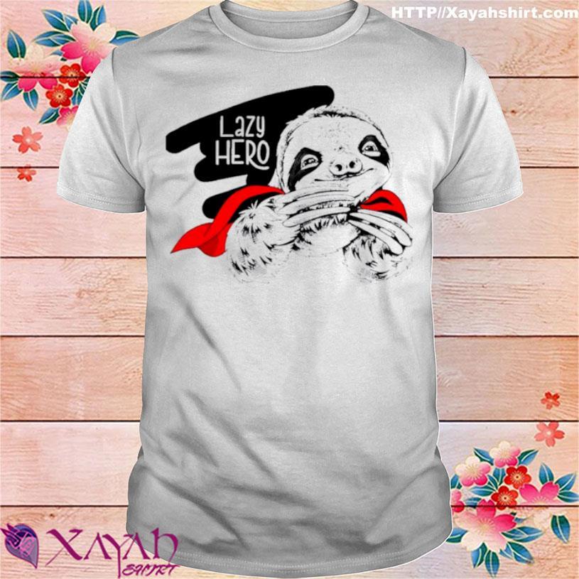 Sloth Lazy Hero Shirt