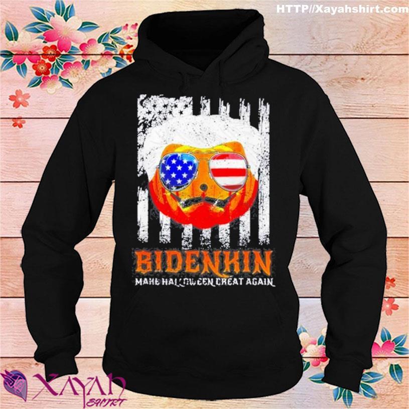 Trending Biden Pumpkin Make Halloween Great Again Biden In USA Tee Shirt hoodie
