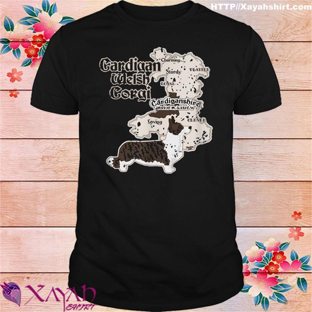 Cardigan Welsh Corgi Cardiganshire Shirt
