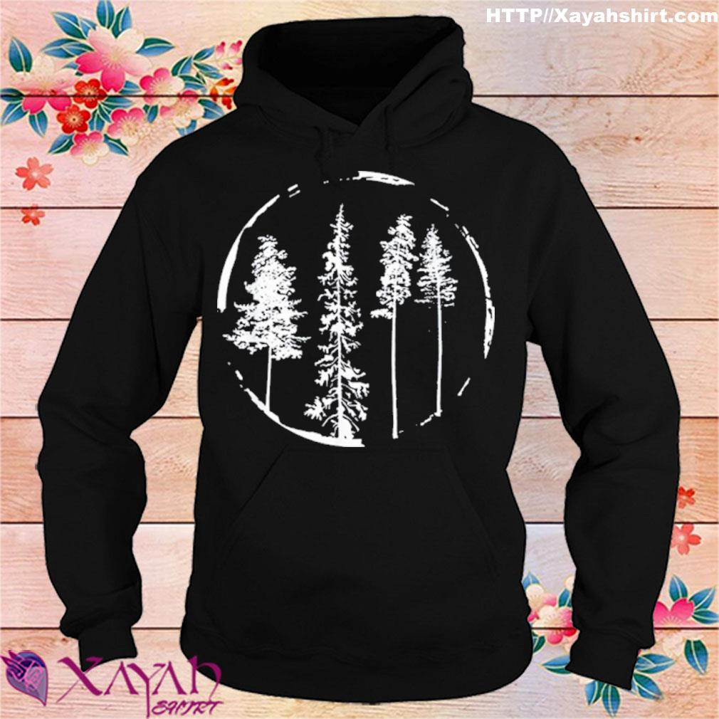 Floral Forest Circle Tree Shirt hoodie