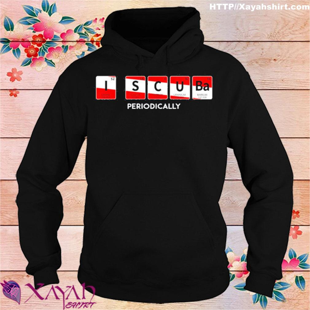 I Scuba Periodically Element Design With Number And Weight Shirt hoodie