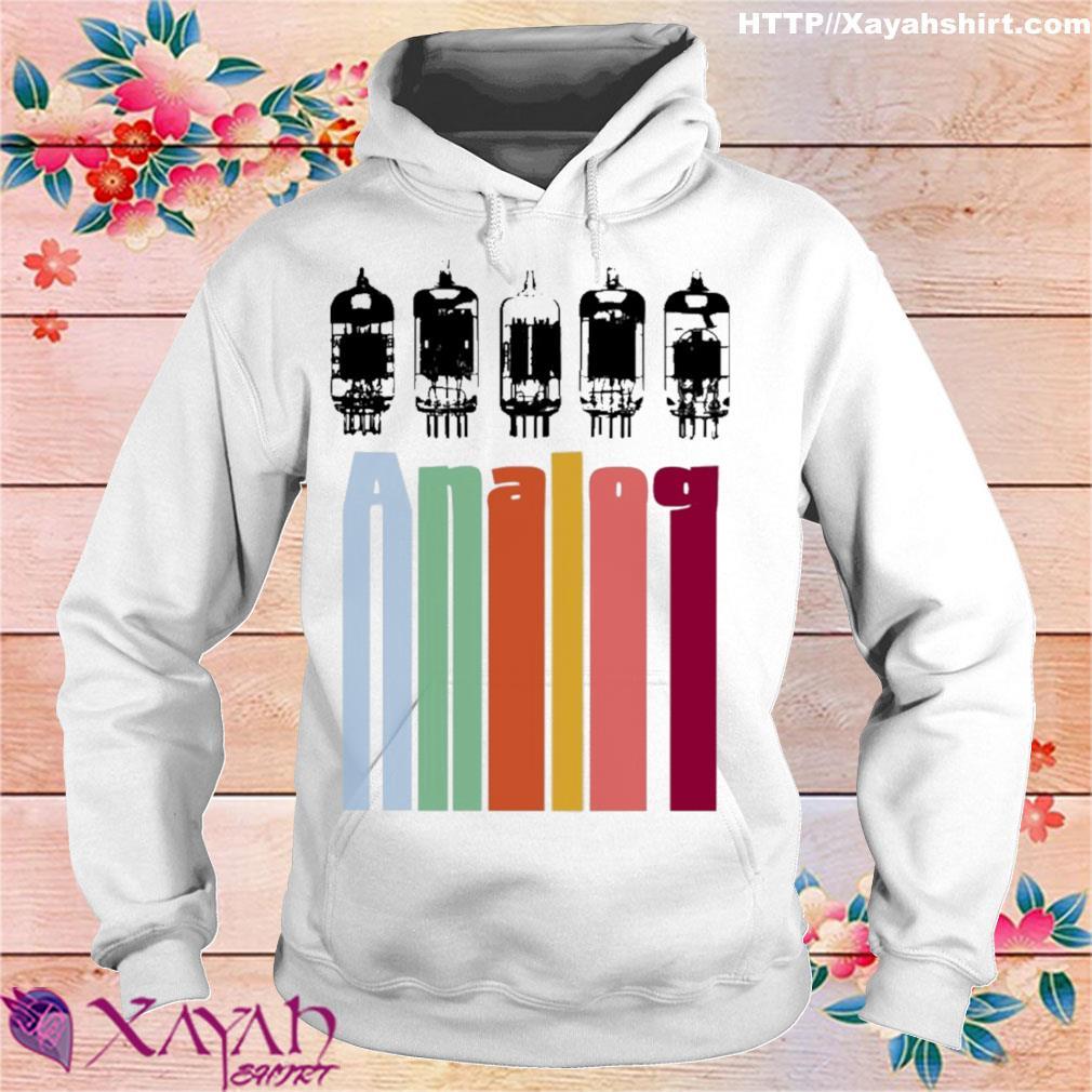 Analog vintage s hoodie