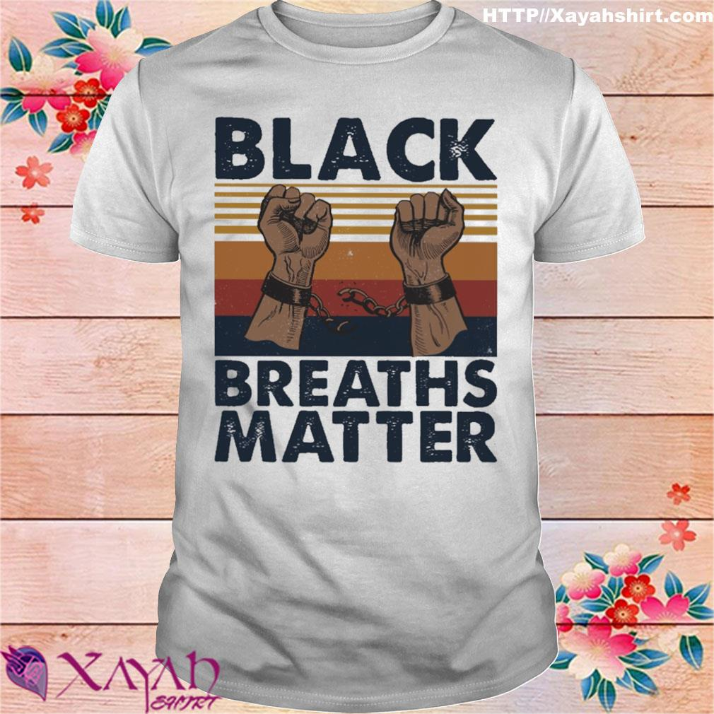 Black Breaths Matter vintage shirt