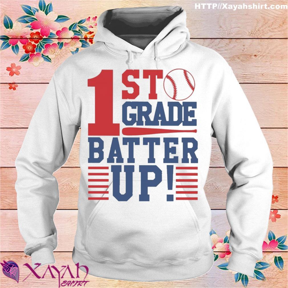 Tennis 1st Grade Batter up s hoodie