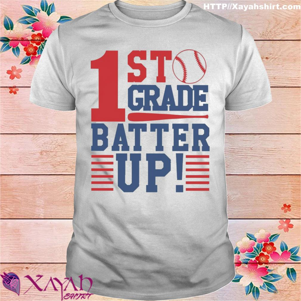 Tennis 1st Grade Batter up shirt