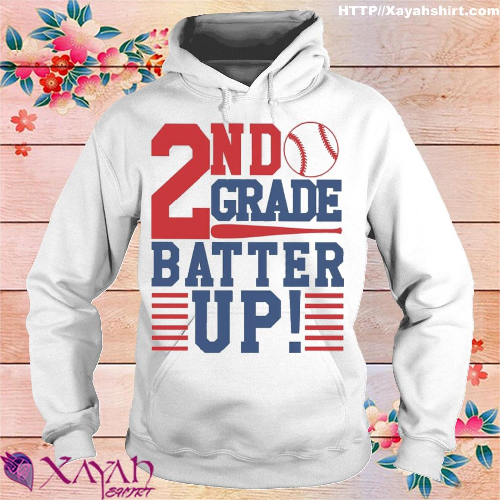 Tennis 2nd Grade Batter up s hoodie