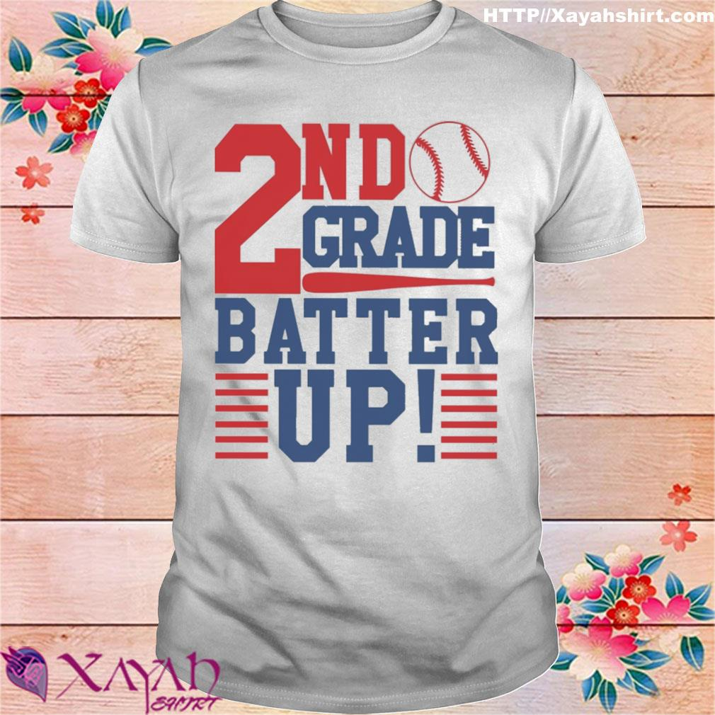 Tennis 2nd Grade Batter up shirt