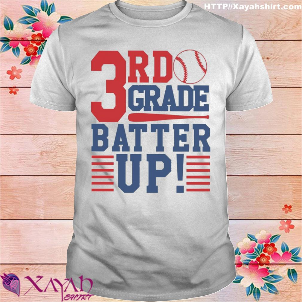 Tennis 3nd Grade Batter up shirt