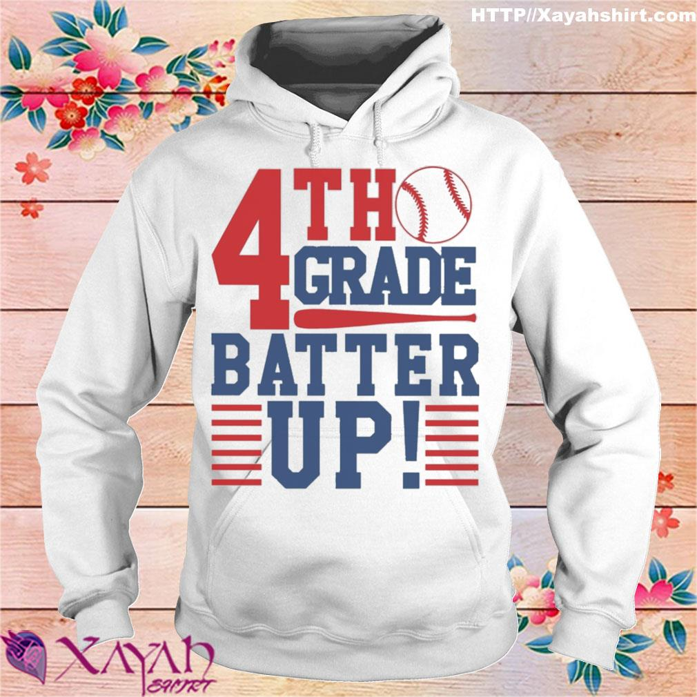 Tennis 4th Grade Batter up s hoodie