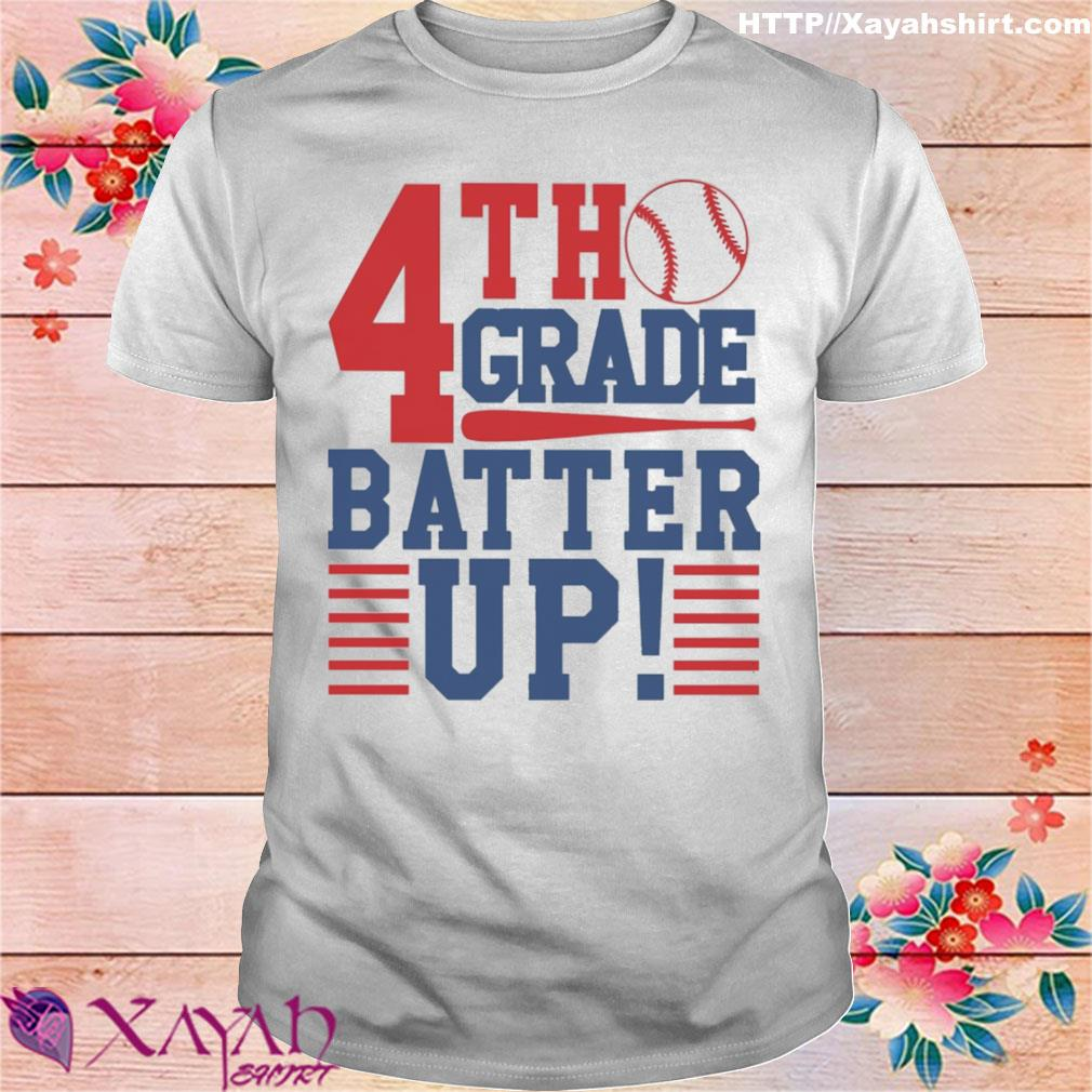Tennis 4th Grade Batter up shirt