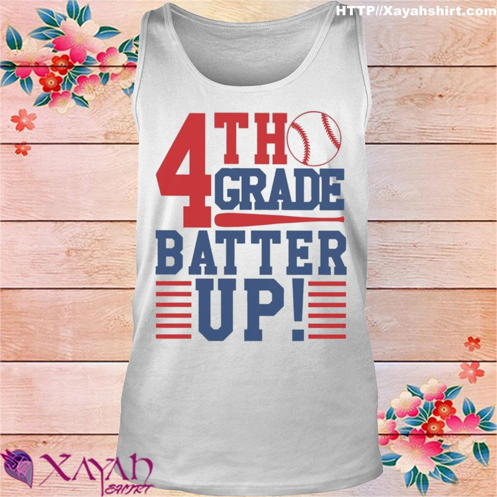 Tennis 4th Grade Batter up s tank top