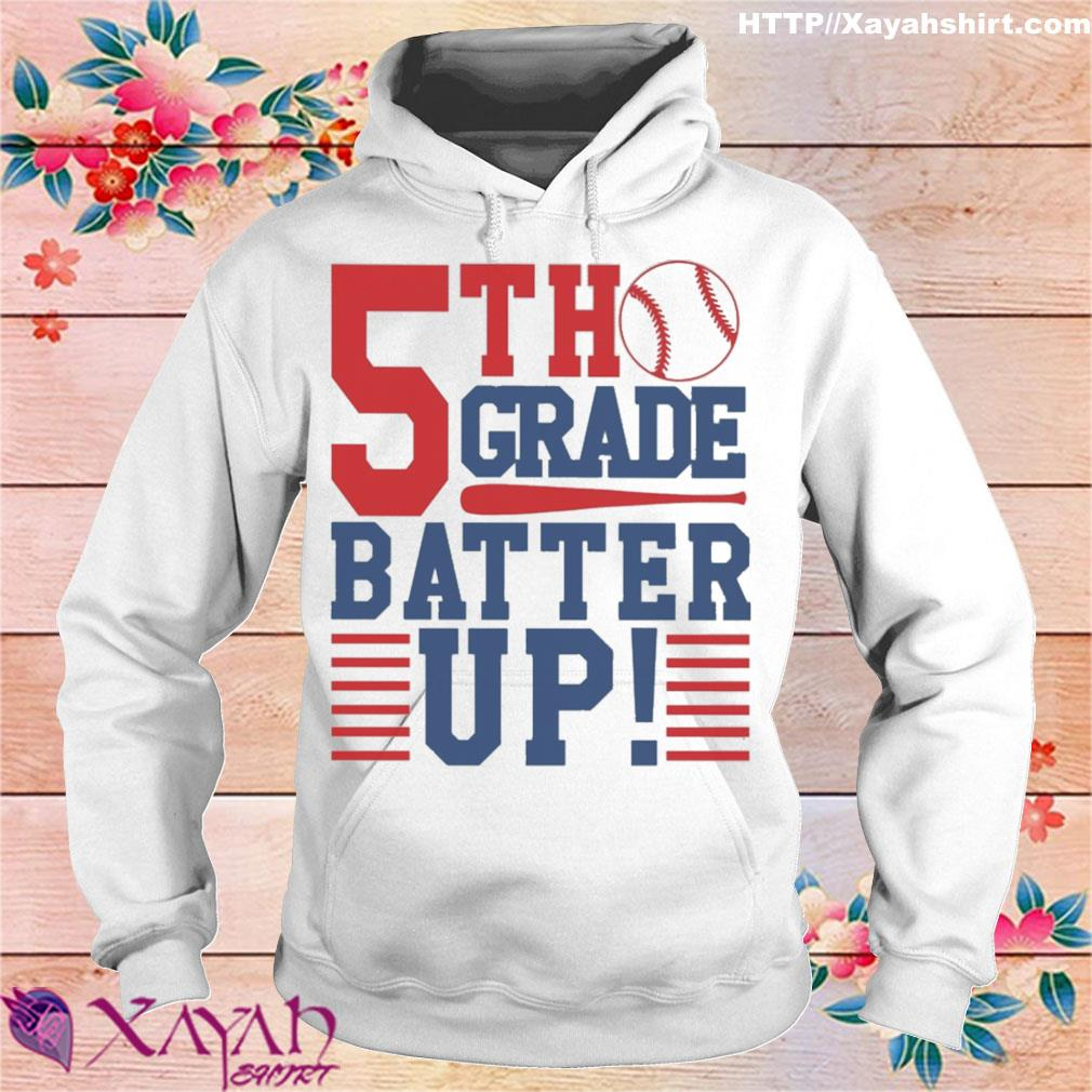 Tennis 5th Grade Batter up s hoodie