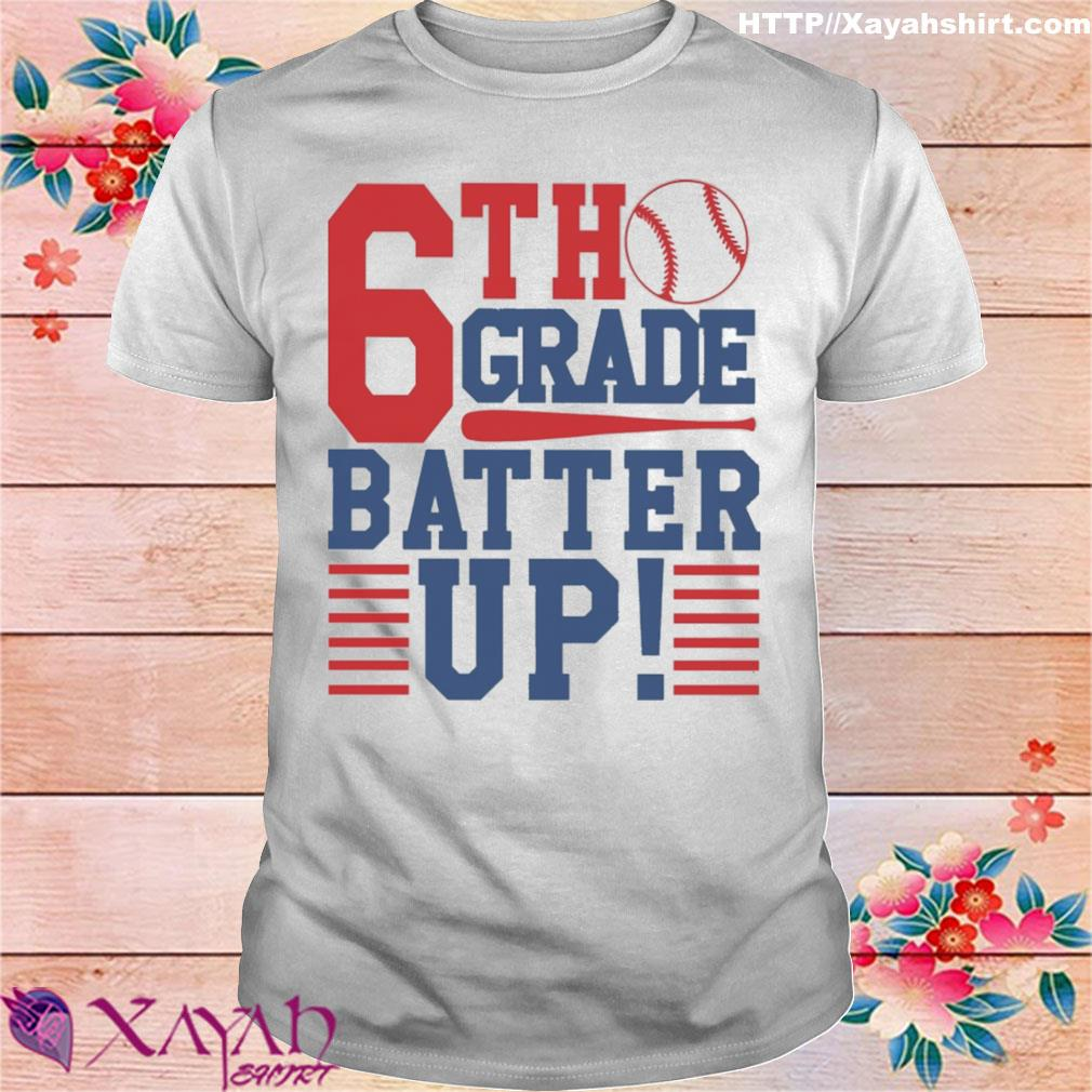 Tennis 6th Grade Batter up shirt