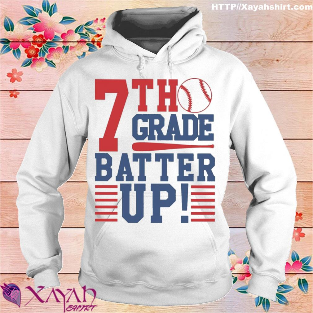 Tennis 7th Grade Batter up s hoodie