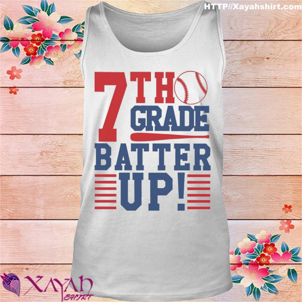 Tennis 7th Grade Batter up s tank top