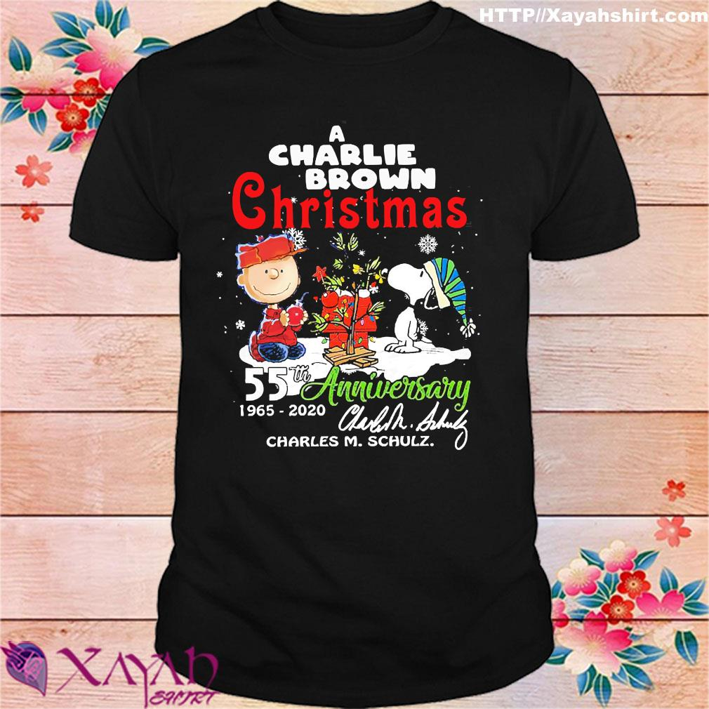 When Does A Charlie Brown Christmas Come On 2020 A Charlie Brown Christmas 55th anniversary 1965 2020 signature