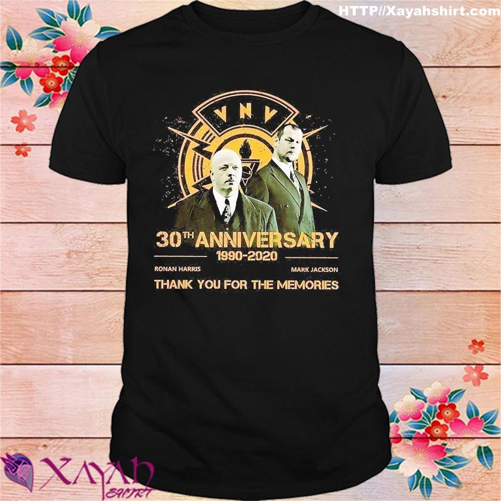 Vnv Nation 30th Anniversary 1990 2020 Thank You for the Memories Shirt Shirt