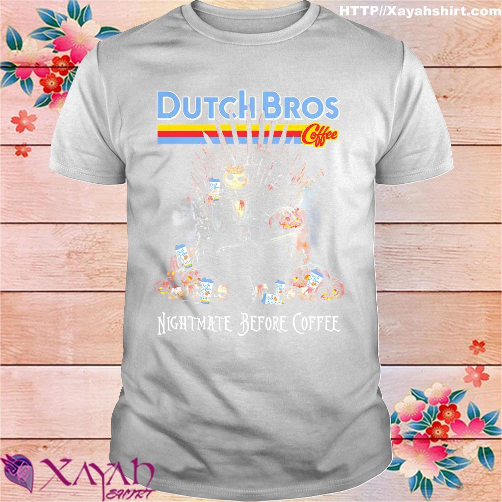 Dutch Bros Special Drinks Halloween 2020 Jack Skellington drink Dutch Bros Coffee nightmare before coffee