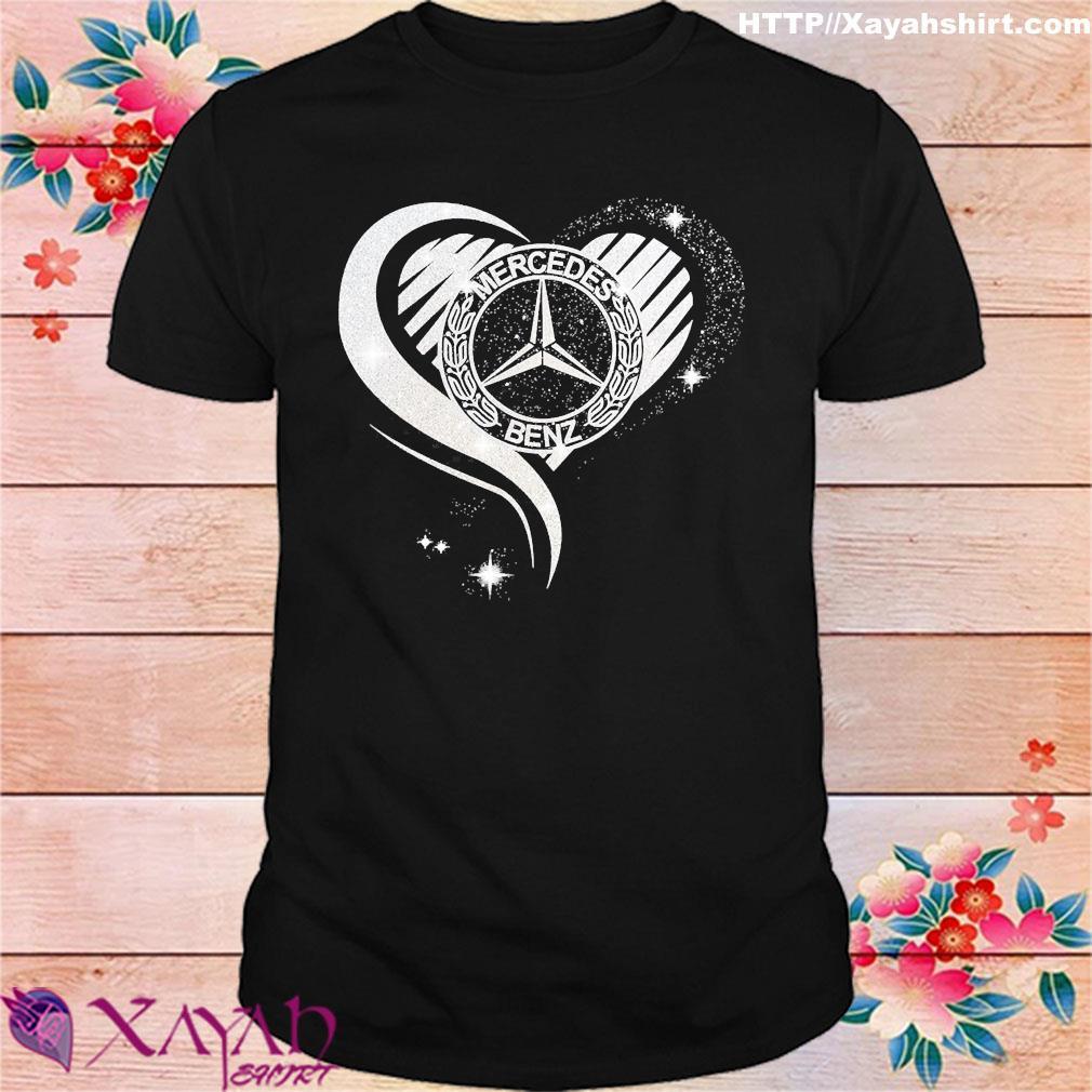 Love heart Mercedes Benz shirt