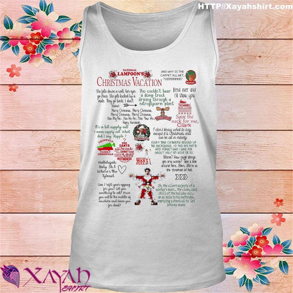 National Lampoon's christmas vacation s tank top