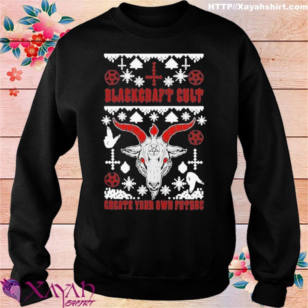 Official Blackcraft Cult Satan's Little Helper Ugly Christmas Shirt sweater
