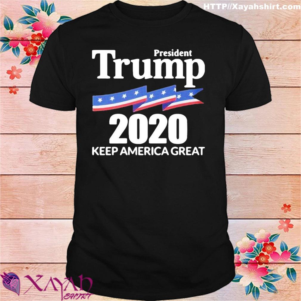Official President Donald Trump 2024 Keep America Great Shirt