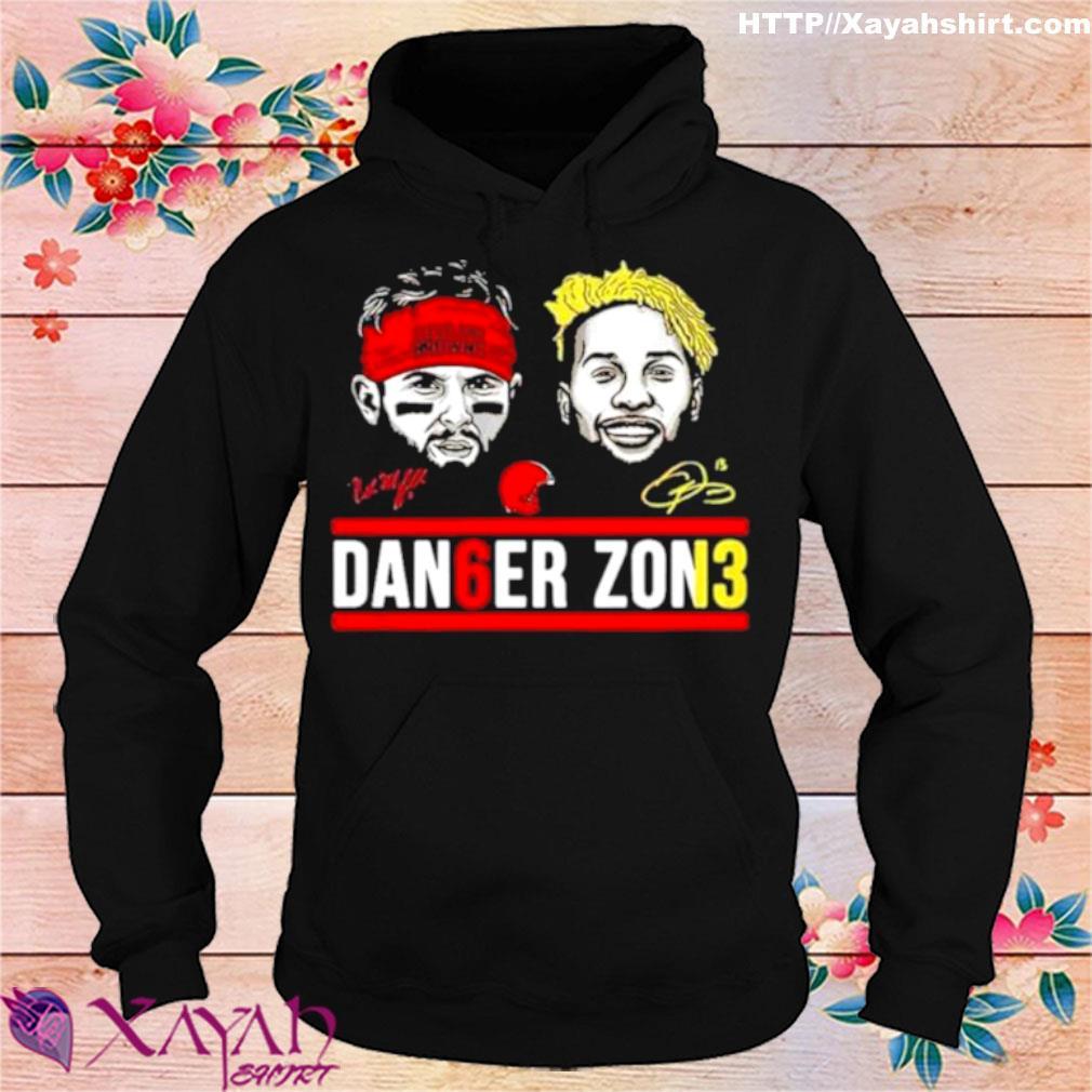 Cleveland Browns Dan6er Zon3 Signatures 2021 Shirt hoodie